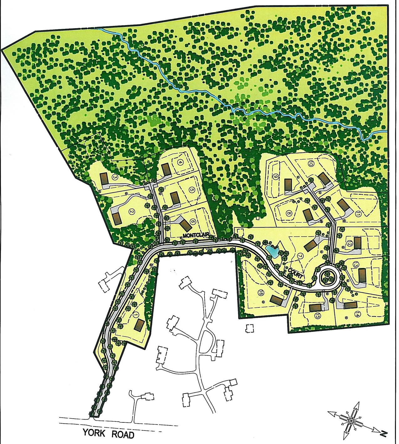 Site Plan Montclair