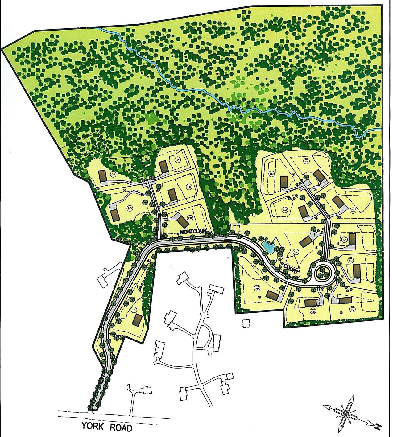 Site Plan Montclair