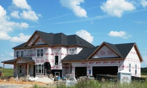 Long Reach Farms - Lot 3 Custom Build exterior construction
