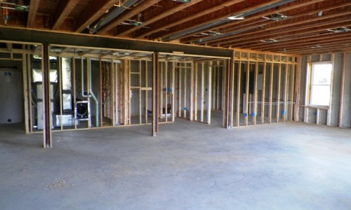 Long Reach Farms - Lot 3 Custom Build basement construction