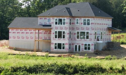Long Reach Farms - Lot 3 Custom Build exterior build