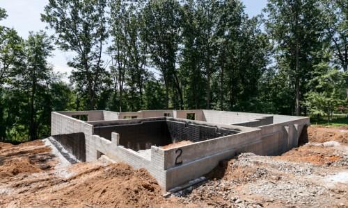 Augusta Ridge - Lot 2 Sonoma foundation