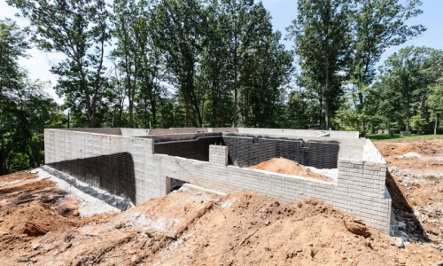 Augusta Ridge - Lot 2 Sonoma basement foundation