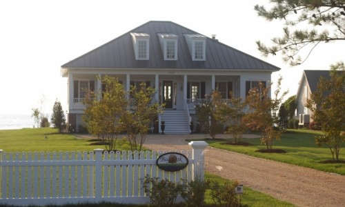JMB HOMES Tilghman Island Custom Home Exterior