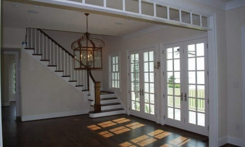 JMB HOMES Tilghman Island Custom Home living area with much sunlight