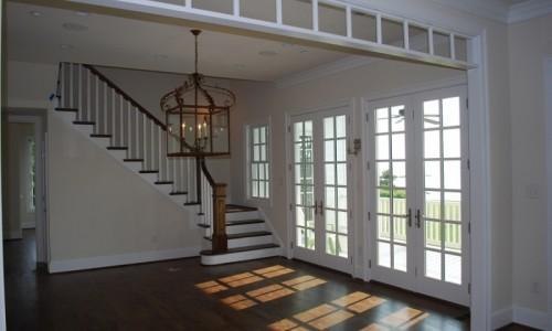 JMB HOMES Tilghman Island Custom Home living area with much sunlight