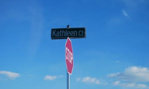 Long Reach Farms - Lot 13 Sonoma street sign