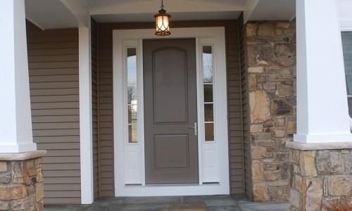 Long Reach Farms - Lot 3 Custom Build Front door