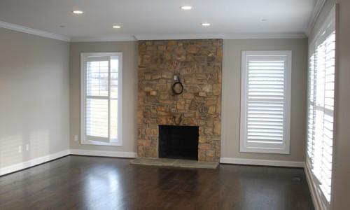Long Reach Farms - Lot 3 Custom Build fireplace