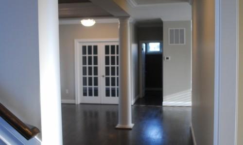 Long Reach Farms - Lot 3 Custom Build hallway