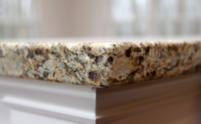 JMB HOMES Augusta Ridge - Lot 7 Sonoma granite countertop