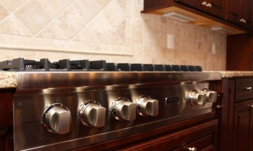 JMB HOMES Augusta Ridge - Lot 7 Sonoma stainless steel range dials