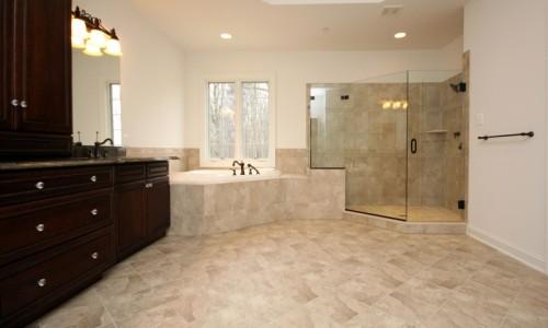 JMB HOMES Augusta Ridge - Lot 7 Sonoma master bathroom