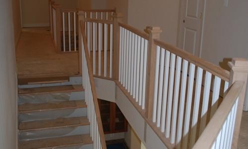 Augusta Ridge - Lot 2 Sonoma stairwell