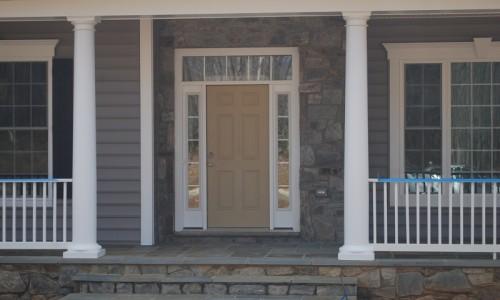 JMB HOMES Augusta Ridge - Lot 2 Sonoma front door