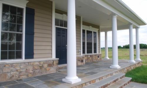 Long Reach Farms - Lot 13 Sonoma front porch