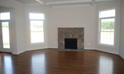 Long Reach Farms - Lot 13 Sonoma fireplace