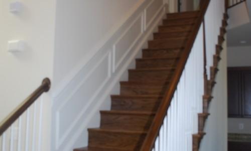 Long Reach Farms - Lot 13 Sonoma staircase