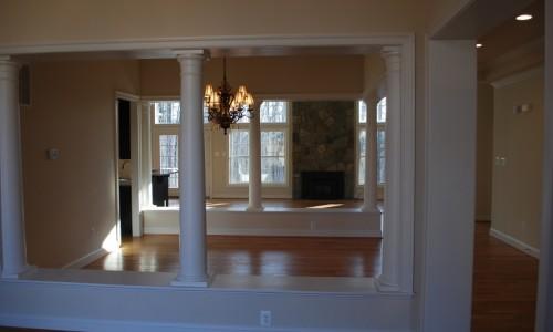 JMB HOMES Augusta Ridge - Lot 6 Monticello hallway