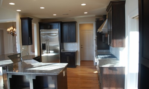 JMB HOMES Augusta Ridge - Lot 6 Monticello kitchen
