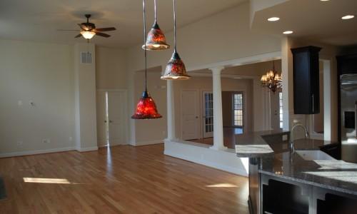 JMB HOMES Augusta Ridge - Lot 6 Monticello custom lighting
