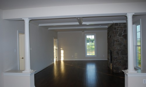JMB HOMES Long Reach Farms - Lot 1 - Marsten living room