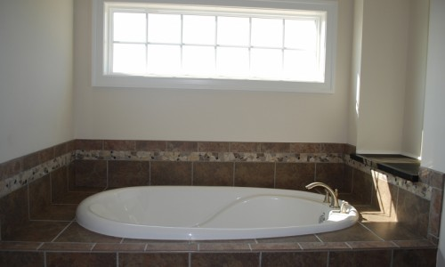 JMB HOMES Long Reach Farms - Lot 1 - Marsten master bath tub
