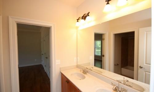 JMB HOMES Augusta Ridge - Lot 9 Sonoma master bath sinks