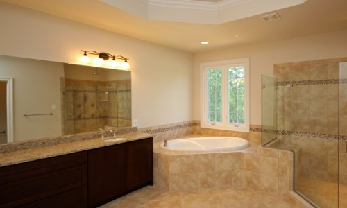 JMB HOMES Augusta Ridge - Lot 9 Sonoma master bath