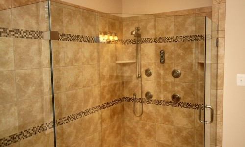 JMB HOMES Augusta Ridge - Lot 9 Sonoma master shower