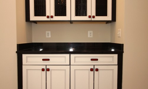 JMB HOMES Augusta Ridge - Lot 9 Sonoma cabinet bar
