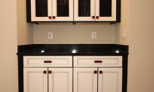 JMB HOMES Augusta Ridge - Lot 9 Sonoma cabinet bar