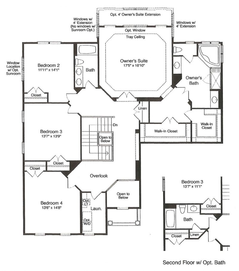 St. Clement by JMB HOMES second floor plans