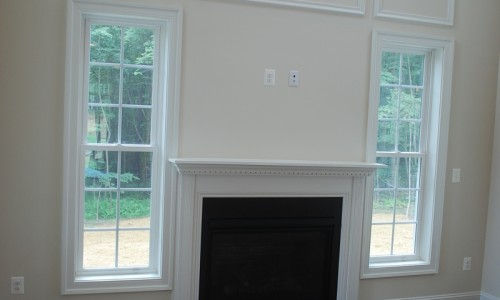 JMB HOMES Augusta Ridge - Lot 8 Woodbridge fireplace