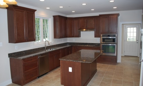 JMB HOMES Augusta Ridge - Lot 8 Woodbridge kitchen