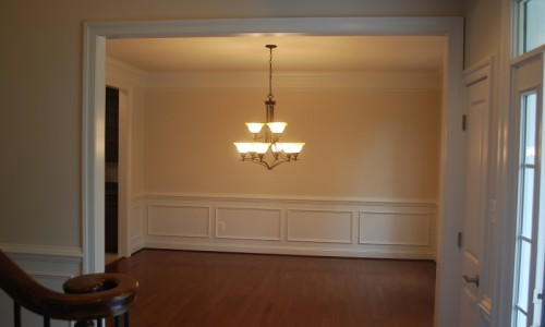 JMB HOMES Augusta Ridge - Lot 8 Woodbridge dining room