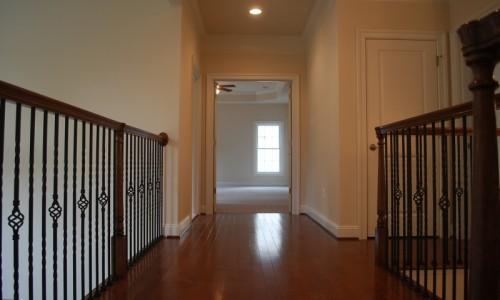 JMB HOMES Augusta Ridge - Lot 8 Woodbridge upstairs hallway