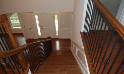 JMB HOMES Augusta Ridge - Lot 8 Woodbridge main stairway