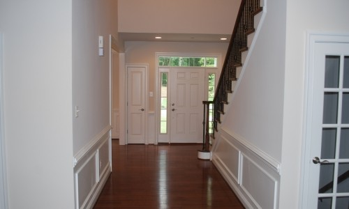 JMB HOMES Augusta Ridge - Lot 8 Woodbridge front hallway