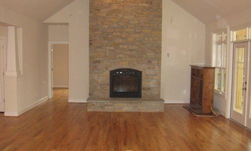 JMB HOMES West Virginia Custom Home fireplace