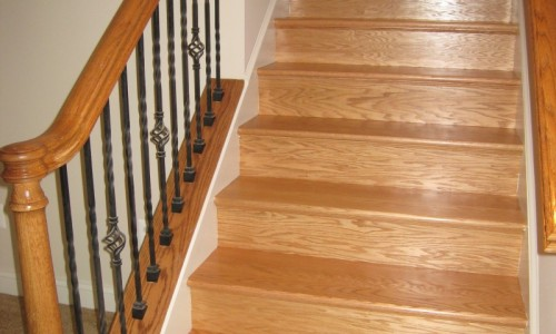JMB HOMES West Virginia Custom Home staircase