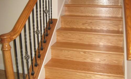 JMB HOMES West Virginia Custom Home staircase