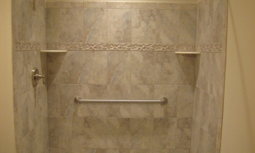 JMB HOMES West Virginia Custom Home shower