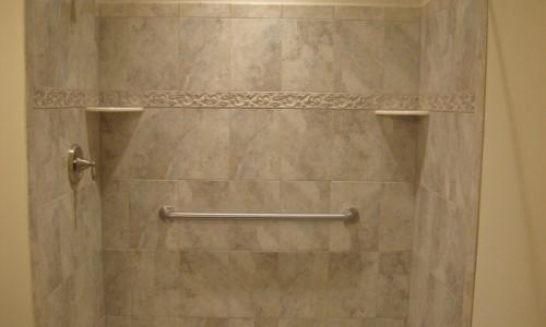 JMB HOMES West Virginia Custom Home shower
