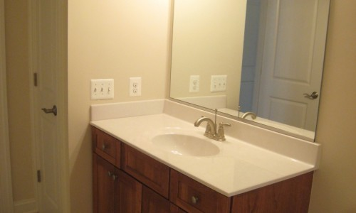JMB HOMES West Virginia Custom Home bathroom sink