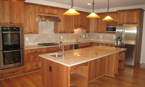 JMB HOMES West Virginia Custom Home kitchen