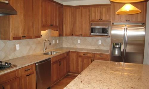 JMB HOMES West Virginia Custom Home kitchen countertops