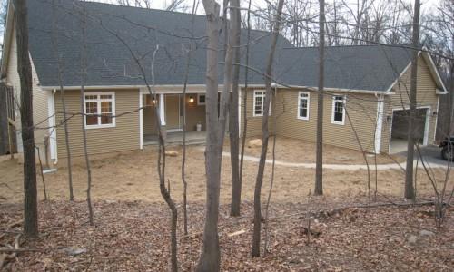 JMB HOMES West Virginia Custom Home front exterior