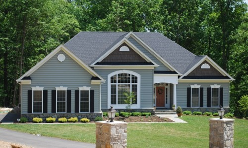 JMB HOMES Augusta Ridge - Lot 6 Monticello exterior