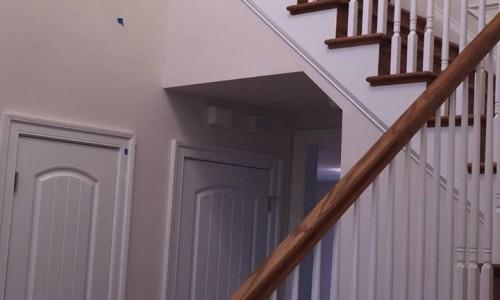 Custom Home in Timonium stairs 2